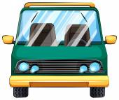 A vehicle — Stock Vector