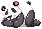 Adorable panda — Stockvector