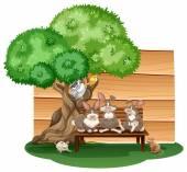動物 — ストックベクタ