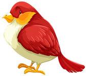 Red Bird — Stock Vector