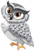 An owl — Stock Vector
