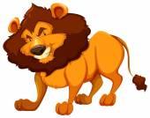 A lion — Stock Vector