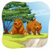 Bears — Stock Vector