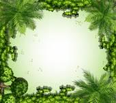 структура природы — Cтоковый вектор