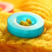 Colorful resin buttons — Stock Photo