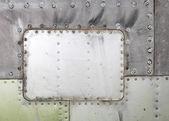 Plane as background — Stock Photo