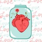 Concept love card — Stock Vector #69439313
