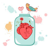 Concept love card — Stock Vector