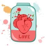 Concept love card — Stock Vector #69443475