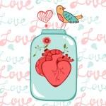Concept love card — Stock Vector #69443493
