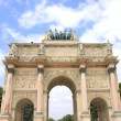 Arc de Triomphe du Carrousel at  Jardin des Tuileries — Stock Photo #64981511