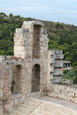 Ruins of The Odeon of Herodes — Stock Photo