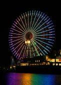 Yokohama ferrish wheel — Stock Photo