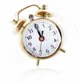 Alarm clock ringing — Stock Photo