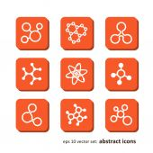 Molecules — Stock Vector