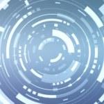 Animation of a futuristic blue hud — Stock Video #54917083