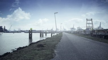 Eurogate of Rotterdam — Stock Video