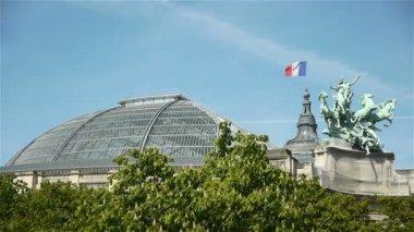 Grand Palais at Paris — Stock Video