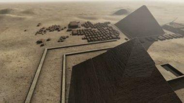Giza platform Egypt — Stock Video