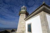 Lighthouse in galicia — Stock Photo