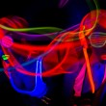 Female disco dancers — Stock Photo #63024305