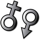 Símbolo sexual — Foto Stock