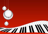 CHRISTMAS MUSIC BACKGROUND — Stock Photo