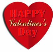 Dia dos namorados coração — Foto Stock