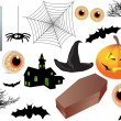 HALLOWEEN ICONS — Stock Photo #64327491