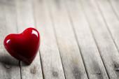 Alla hjärtans dag bakgrund med hjärtan — Stockfoto