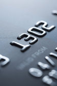 Credit card close-up - Stock Image — Стоковое фото