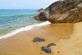 ко самуи залив азии остров белый и южно-китайское море — Стоковое фото