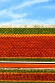 Astratto thailandia croce colori asia e cielo — Photo