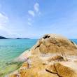 Asia   bay isle    rocks   thailand  and south china sea kho sam — Stock Photo #55489839