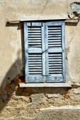 Window  lonate ceppino varese italy abstract     blind in the c — Stock Photo