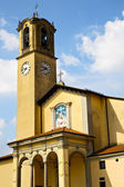 Mosaic church albizzate varese italy the old wall — Stock Photo