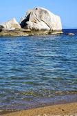 Asia  kho tao coastline   big  rocks  froth — Stock Photo