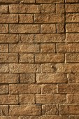 Brick in  legnano  street lombardy italy  varese abstract   of a — Foto Stock