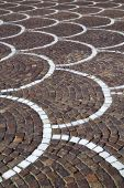 In   castano primo  street lombardy italy  varese abstract    — Foto Stock