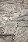 Near mozzate street lombardy italy  varese  wall marble — Stock Photo