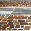 Brick in pavement of a curch and marble — Stock Photo #60389639