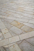 Brick in casorate sempione street lombardy italy  varese a  — Stock Photo