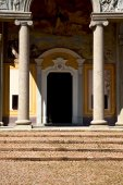 italy  lombardy     in  the cairate old   church  closed brick  — Stock Photo