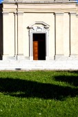 italy  lombardy     in  the casorate sempione  old   church  gr — Stock Photo
