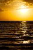 Asia in the  kho tao bay isle sunset sun   thailand  and   china — Fotografia Stock