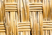Texture bamboo in morocco   — Stock Photo