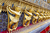 Demon in the temple bangkok  — Stock Photo