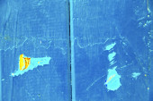 Stripped paint in the blue yellow — Stok fotoğraf