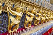 Demon in the temple bangkok — Stock Photo