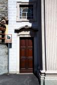Lombardia Itália na parede de passo velho besnate — Fotografia Stock